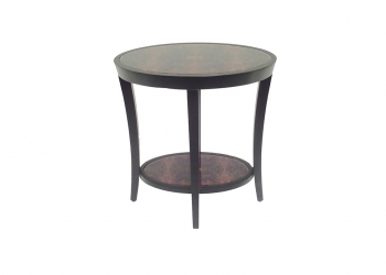 Broughton House Circle Wood Side Table