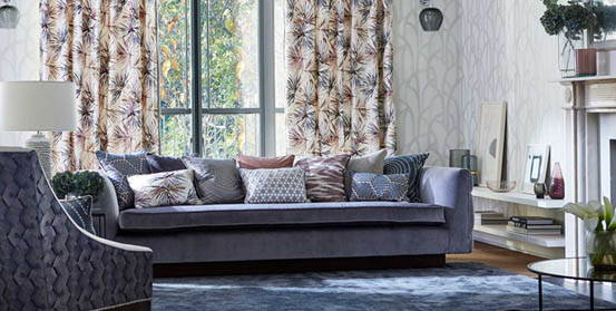 Custom Made Harlequin Sofas