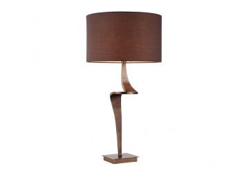 Broughton House Bronze Design Side Lamp