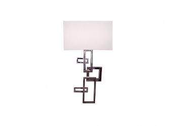 Broughton House Chrome Square Design Lighting