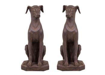 Broughton House Dog Pair