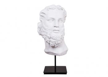 Broughton House Stone Head Figure
