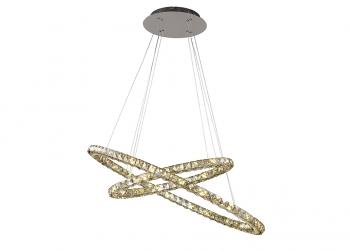 Broughton House Circular Crystal Lighting