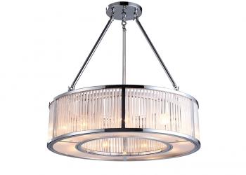 Broughton House Closed Chrome Circular Design Light