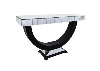 Broughton House Decorative Glass Corridor Table
