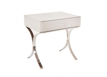 Broughton House Glass Leg Side Table
