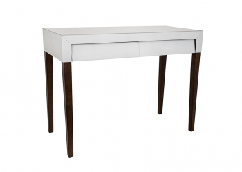 Broughton House White Drawer Tall side Table