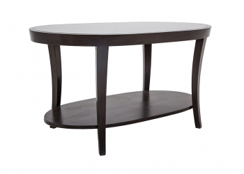 Broughton House Wood Oval Tall Side Table