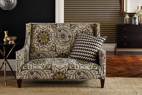 Bespoke Sanderson Sofa